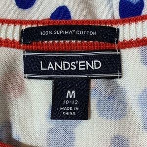 Lands' End Tops - Lands End Medium 10-12 100% Supima Cotton